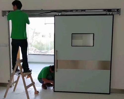 防辐射门安装