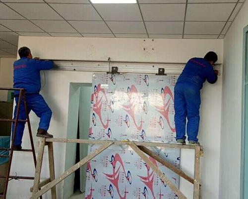 铅防护门安装