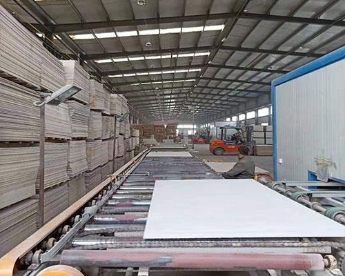 硫酸钡板生产车间