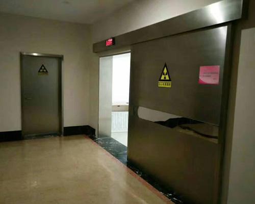 铅防辐射门