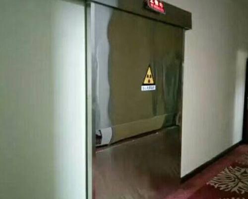 医用铅防辐射门